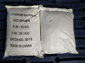 Potassium Sulfate(K2SO4)SOP 50% water soluble powder