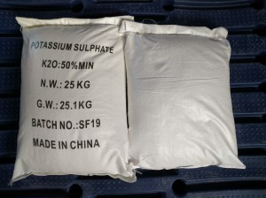 Potassium Sulfate(K2SO4)SOP 52% water soluble powder